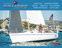 2018 OCC Sailing Brochure Cover